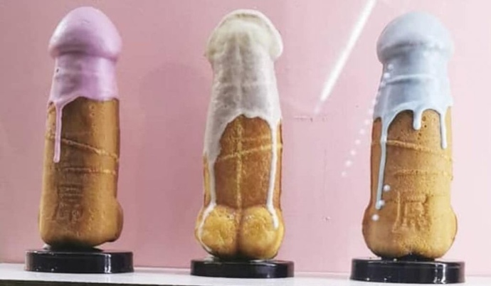 Would you try dick waffle?