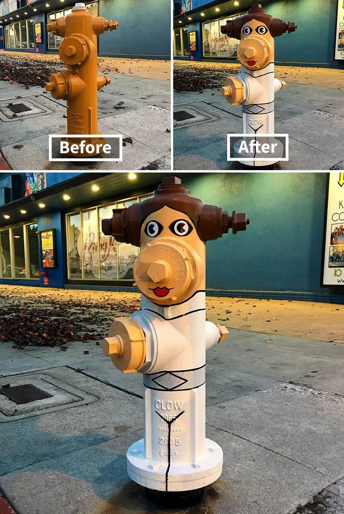 How do you get rid of eyesores in your neighborhood?