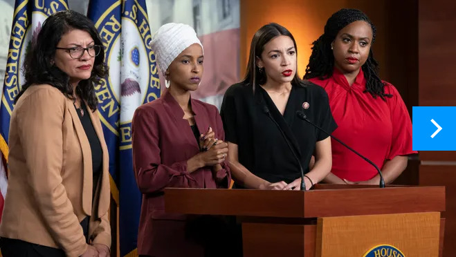 Which is a better name for The Squad: The Hamas Caucus or the Jihad Squad?