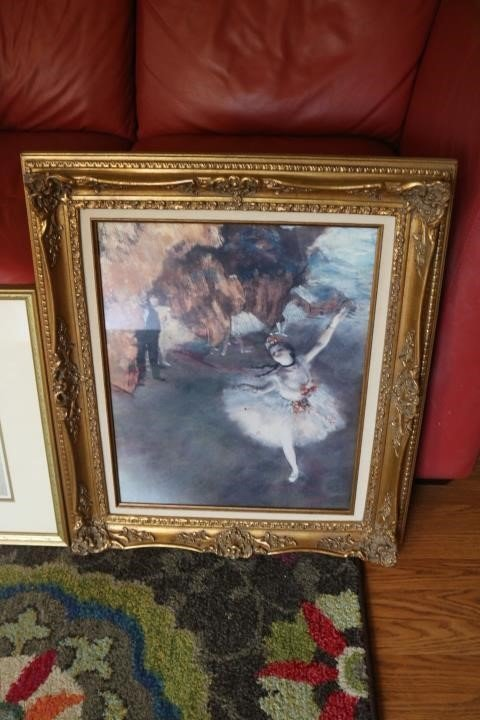 Which is best Art that I won at local auction?