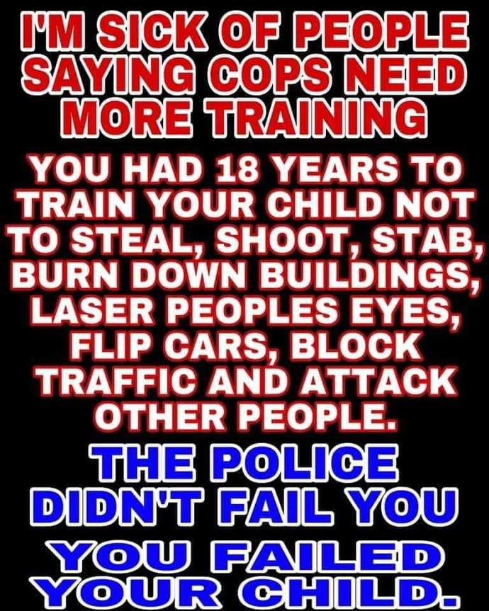 Are the police the problem in black communities or is it the irresponsible behavior of black parents that is the problem?