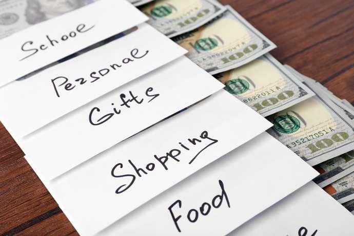 How do you budget your money?