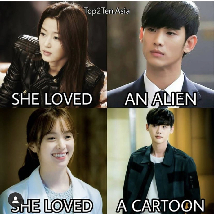 Which love story would you most likely be invested in?