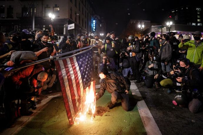 Guys, Do you agree with New York Democratic Representative Jerry Nadler that the daily riots in Portland Oregon never happened?
