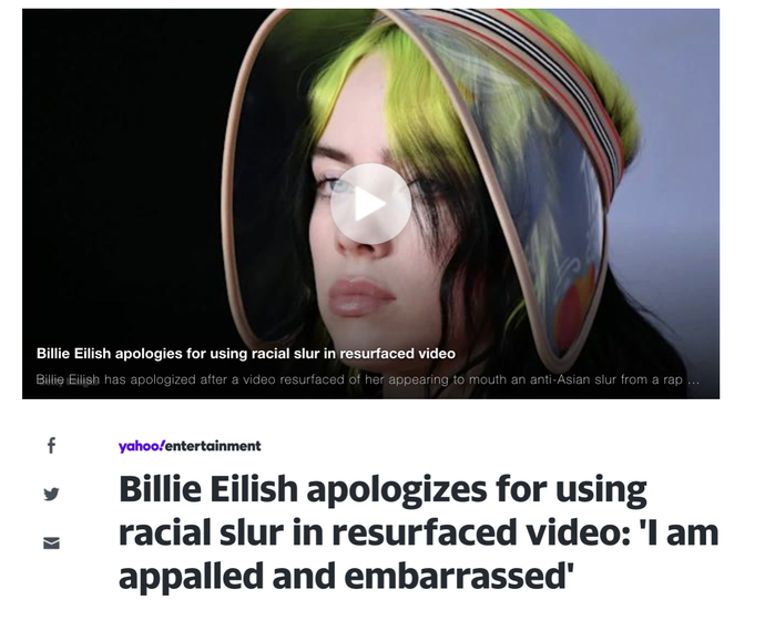 Billie Eilish apologizes for using racial slur: Is this woke done right?