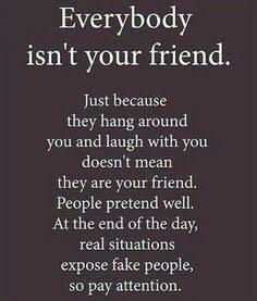Are you quick to call everyone you meet a friend?