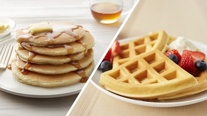 Which do you prefer: pancakes or waffles?