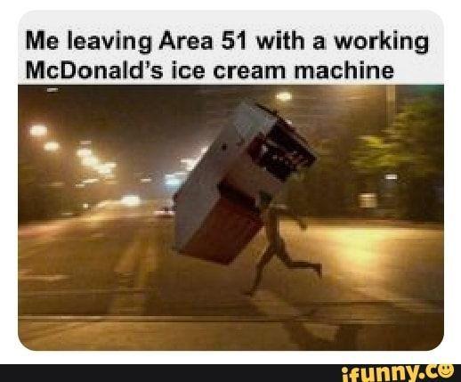 Is mcDonald's ice cream machine working?