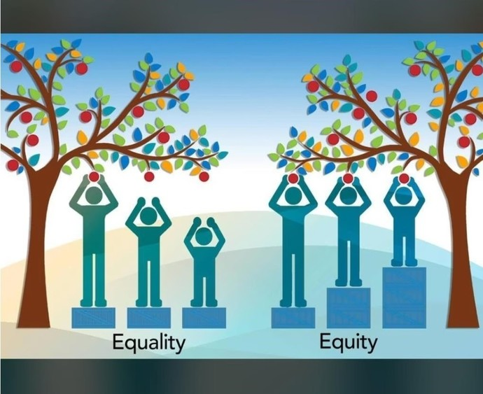 Do you believe in equality of outcome or equality of opportunity?