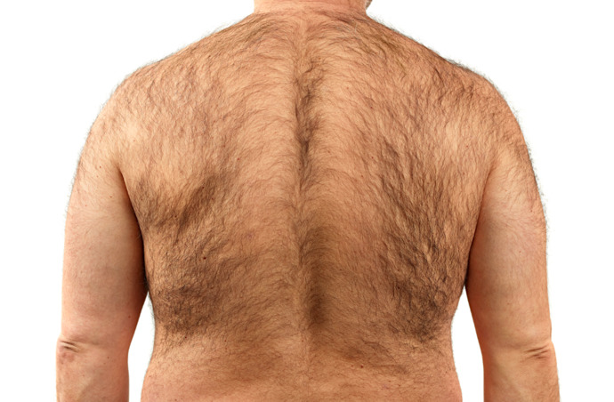 How many men (& some hairy ass women. You know who you are) need to shave their backs?