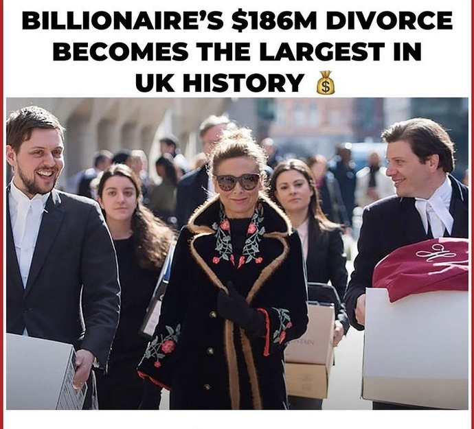 Woman divorces man and gets 186 billion dollars. Was recently seen out with a hot younger guy, are you happy for her?