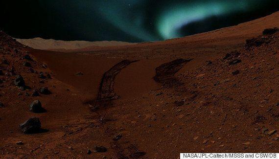 Auroras in Mars