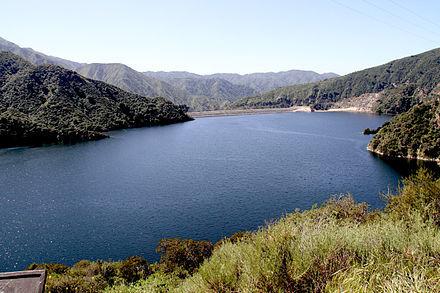 San Gabriel Dam in 2015