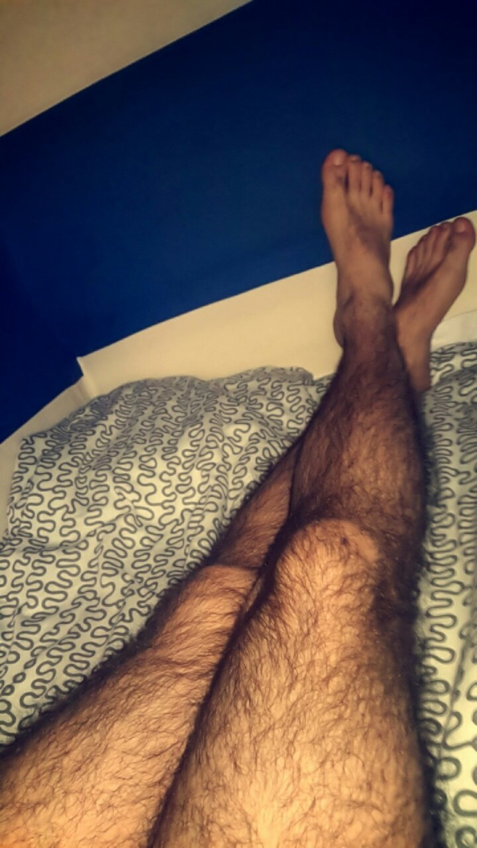 Are these legs too hairy and would look attractive when shaved?