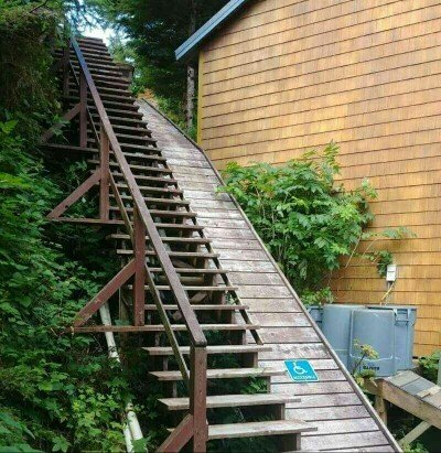 Whats worse, walking upstairs or downstairs?