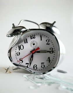 * angry alarm clock noises* what time do you get up in the morning? And why?