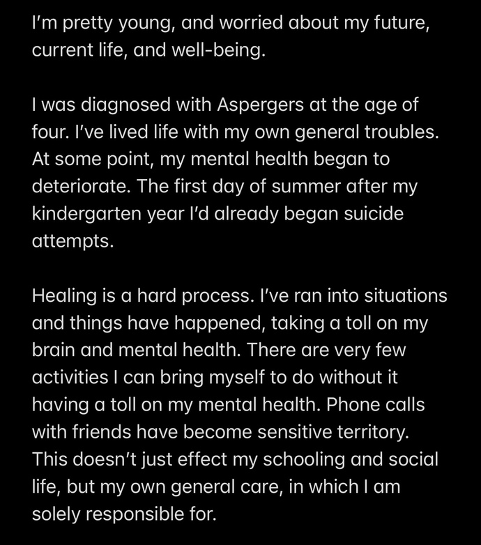 Mentality and Self-Care?
