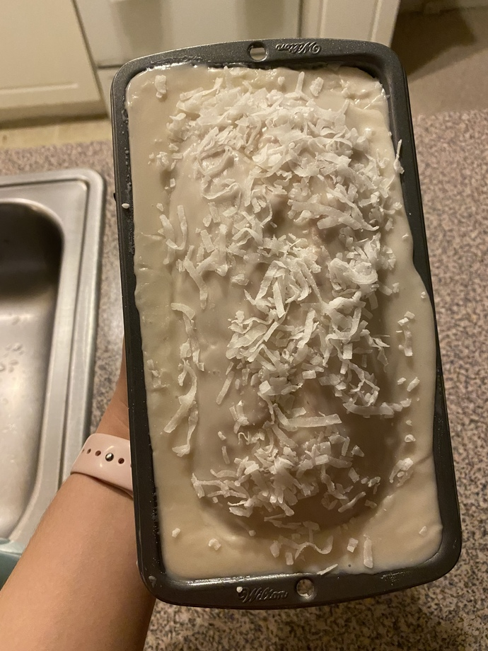 Would you try my coconut bread?