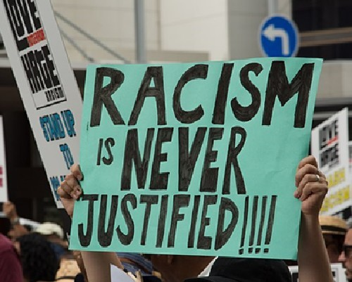 Have you ever personally experienced any form of racism or any form of prejudice in regard to your ethnicity?