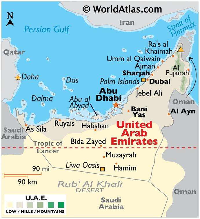 When You think of Abu Dhabi, United Arab Emirates, What is the First Thing That Comes to Your Mind?