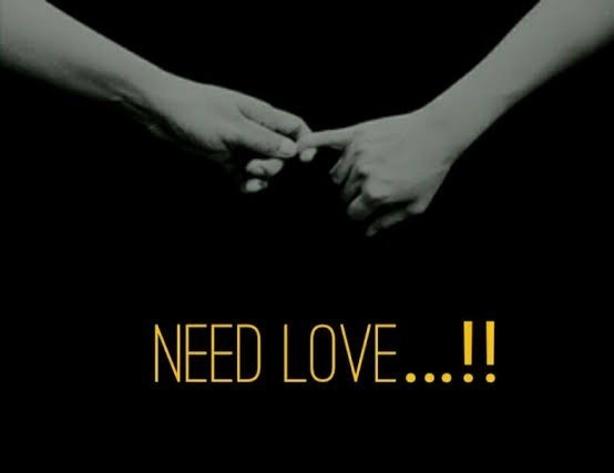 The people who need love ask for it in the most unloving ways. Agree?