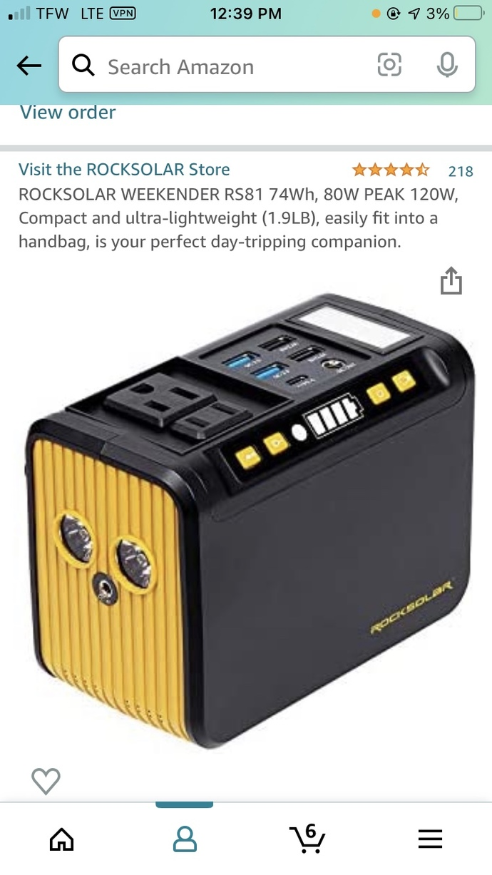 Rock Solar Portable Power Station be used indoors?