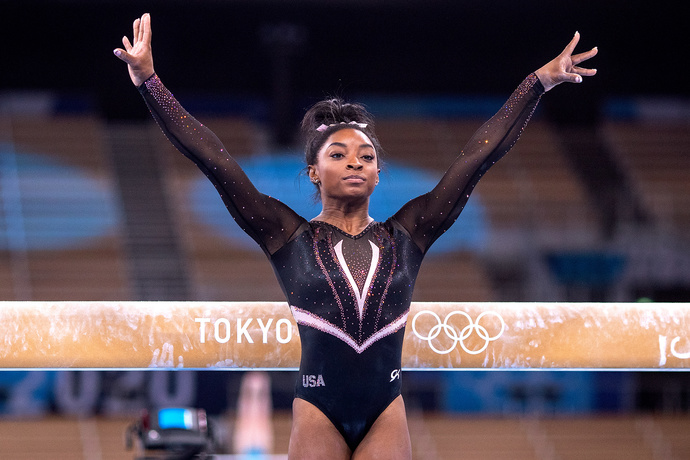 What is the appropriate action sponsors should take in regards to Simone Biless endorsements?