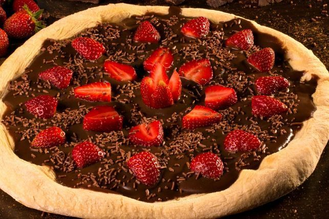 Have you tried Nutella pizza?