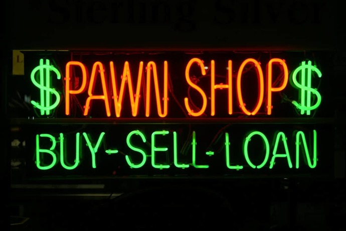 What qualifications are needed to work in a pawn shop?