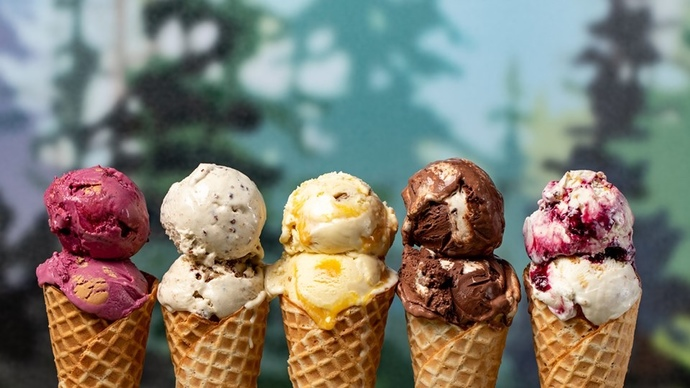 traditional ice cream OR sorbet?