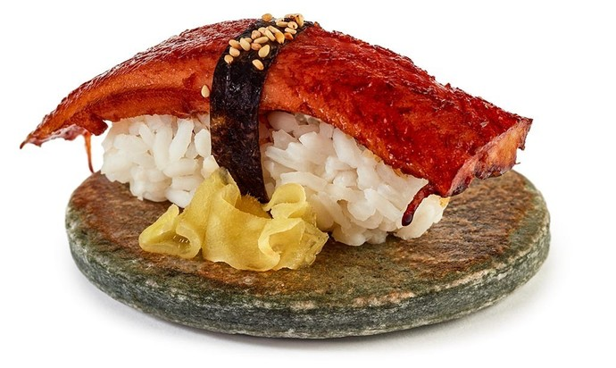 Did you know that pickled ginger is for cleasing your palate between each different type of sushi?