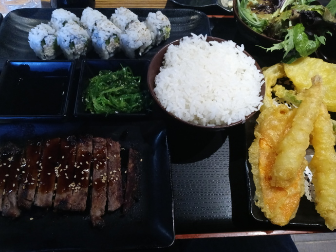 Me and my bestie went out for Japanese food tonight, How does it look?