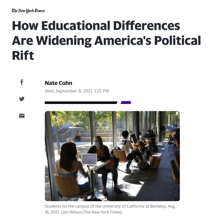 Is education dividing America?