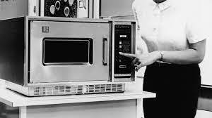 What did the first Microwave sell for?
