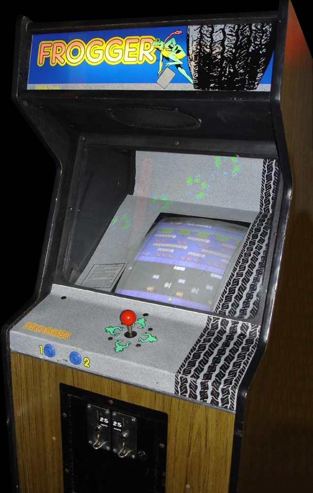 Have you ever played the arcade version of Frogger?