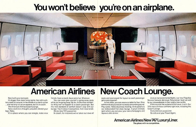 WHY ARENT PLANES AS ROOMY AS THEY WERE IN THE 70S?