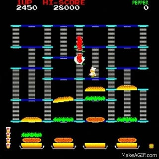 Have you ever played the original arcade version of Burgertime?
