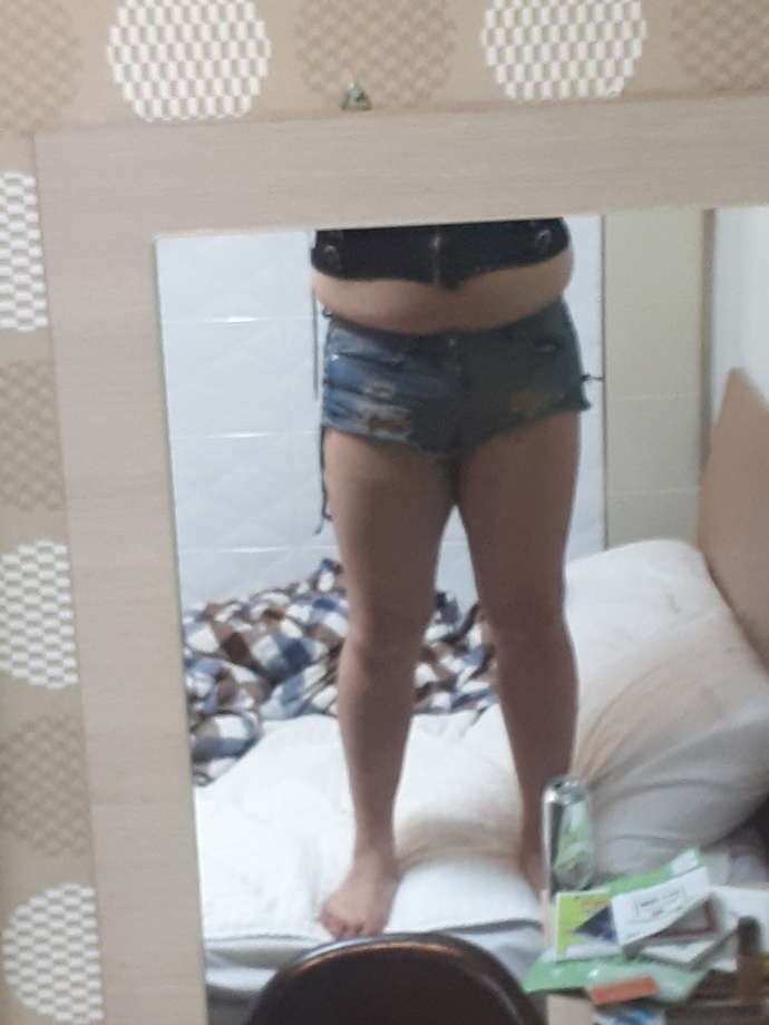 Why is it socially acceptable for women to wear very very short jeans shorts in public but people get offended when men wear same type of clothing?