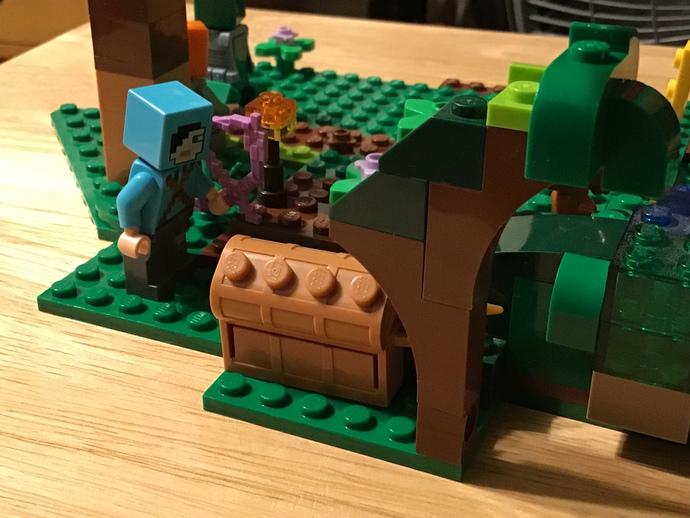 I updated the Dinosaur Jungle/Minecraft thing?