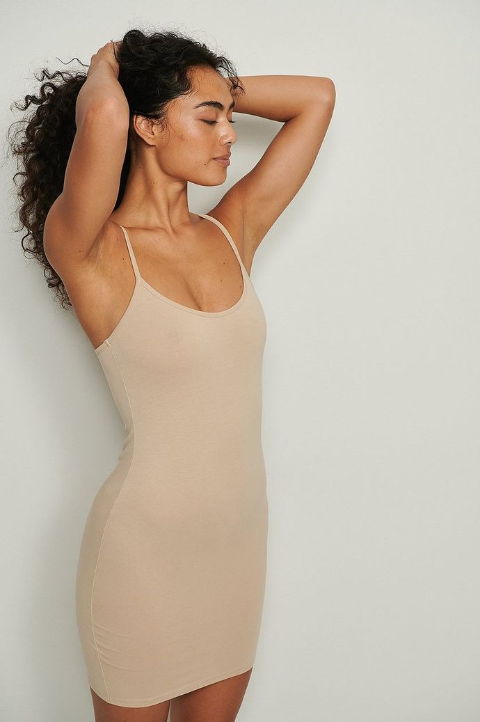 Which color of this dress would be the best choice to wear with a black leather jacket if youre pale?