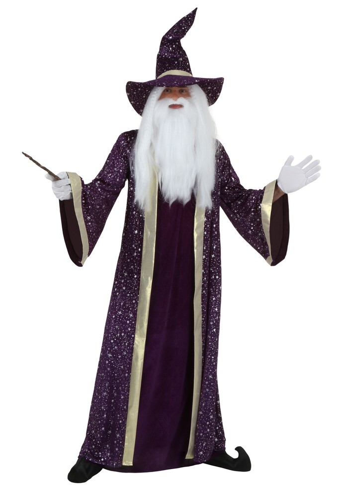 What does it mean when a man is a wizard?