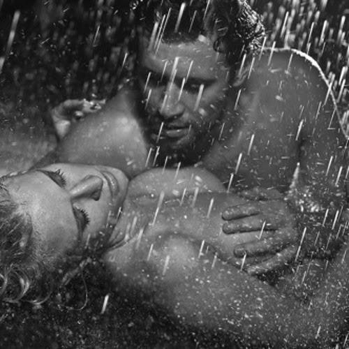 Girls, sex in the rain? Or sex in the shower?