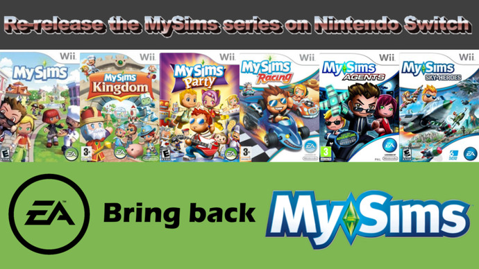 Were you ever into the Sims games series? if so, which game/console?