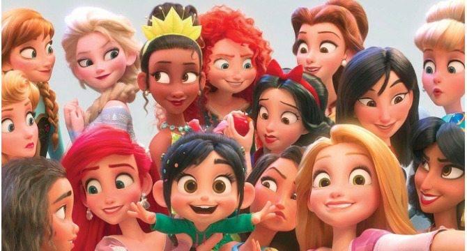 Who is your favorite and least favorite disney princess?