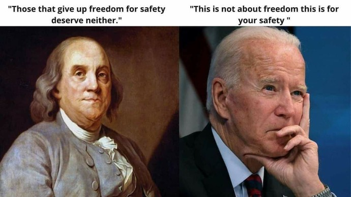 Safety or Freedom. Which one would you rather have?