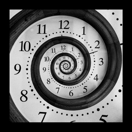 What is something that makes you forget about time?