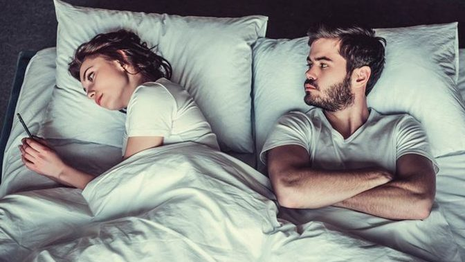 For those of you living with your SO, do you ever go to bed angry?