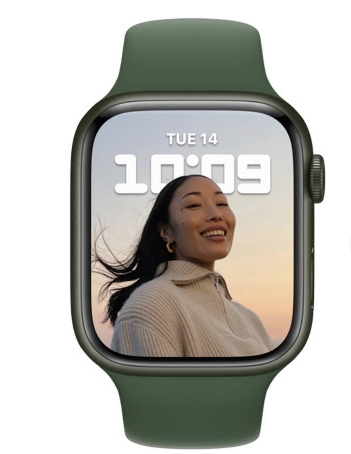 Which color do you like for the Apple Watch Series 7?