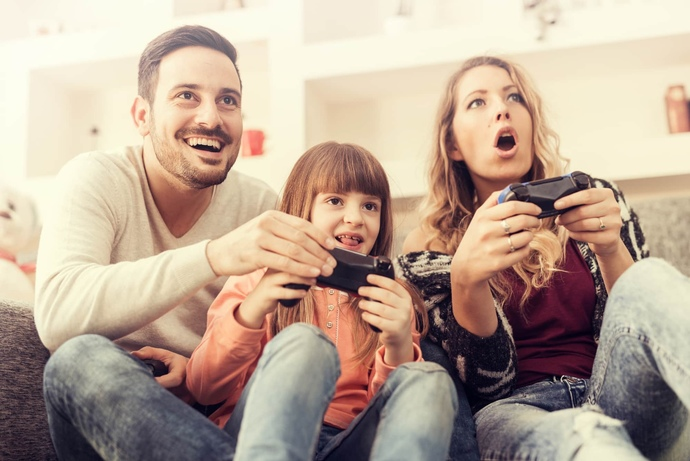 Do you play video games with your family?