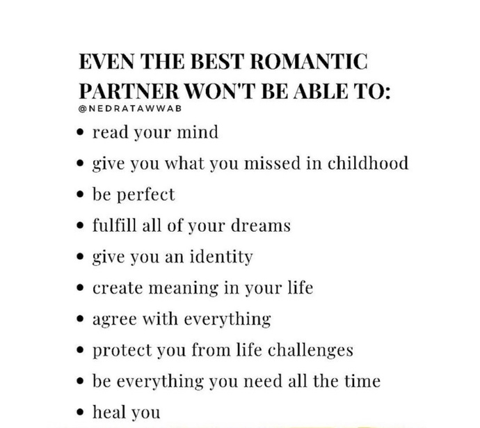 How do you recognize your future partner?